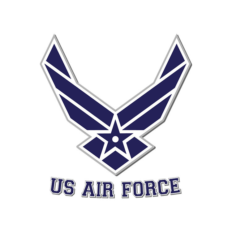 Air Force Clip Art Vector Svg Eps Dxf Png Digital Download